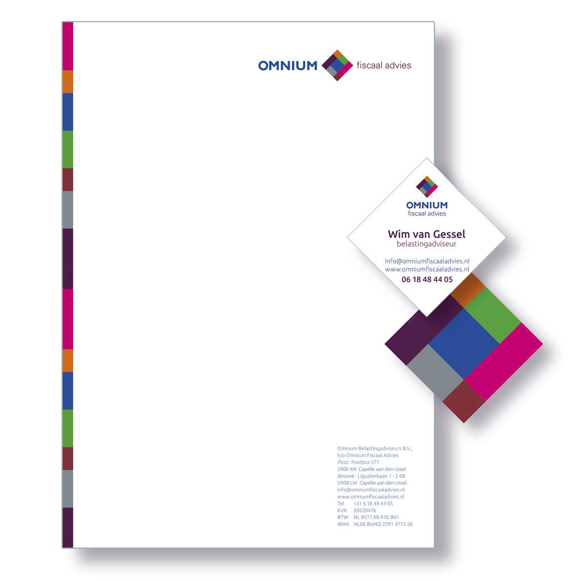Omnium-visitekaart-briefpapier